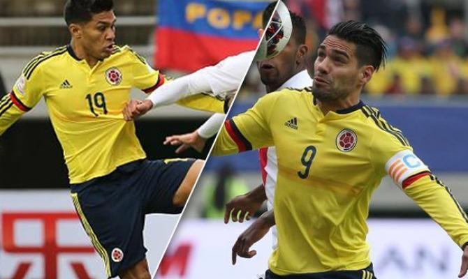 Falcao o Teo en la delantera de Colombia