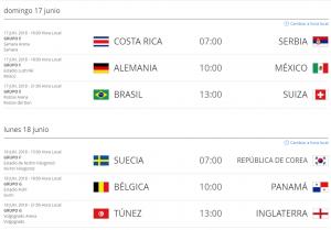 Partidos_Rusia_2018_Hora_Colombia_17_y_18_de_junio