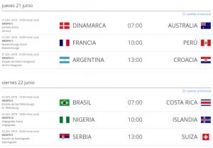 Partidos_Rusia_2018_Hora_Colombia_21_y_22_de_junio