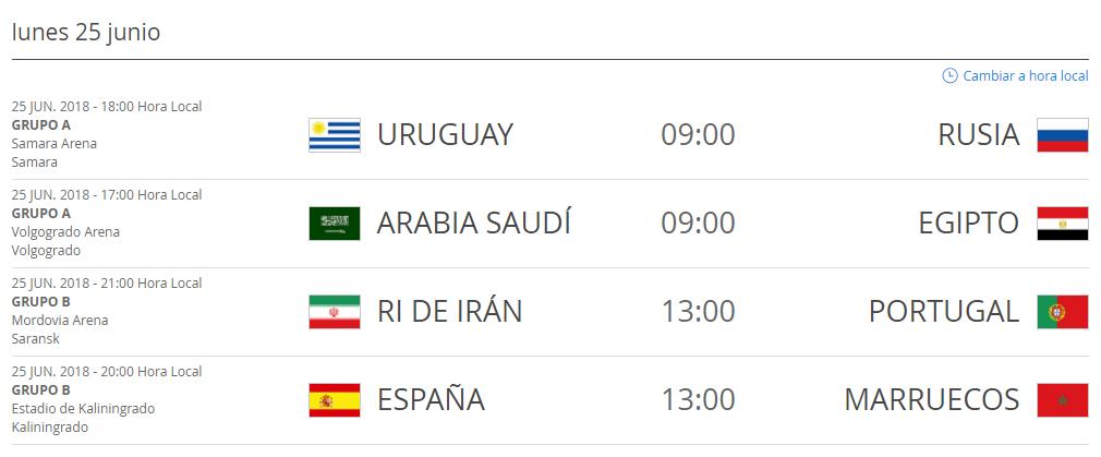 Partidos_Rusia_2018_Hora_Colombia_25_de_junio