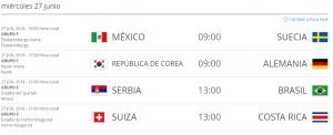 Partidos_Rusia_2018_Hora_Colombia_27_de_junio