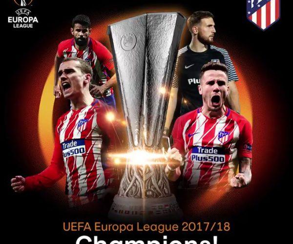 Atlético campeón de la Europa League