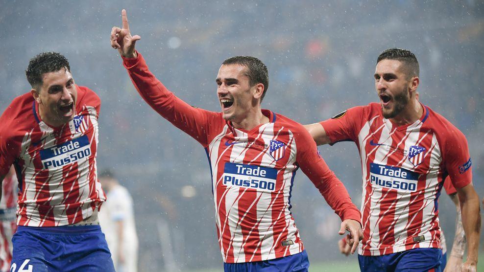 Griezmann la figura del Atlético