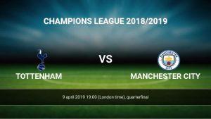 Tottenham - Manchester City - Cuartos UCL 2019