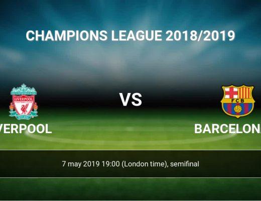 Liverpool vs Barcelona - Semifinal UCL 2019
