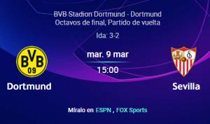 Dortmund vs Sevilla